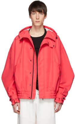 Feng Chen Wang Pink Hooded Jacket