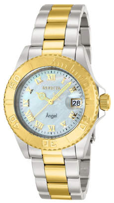 Zales Ladies' Invicta Angel Watch with Mother-of-Pearl Dial (14364)