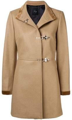 Fay pin fasten coat