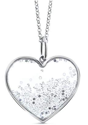 Cosanuova - Large Floating Heart Necklace