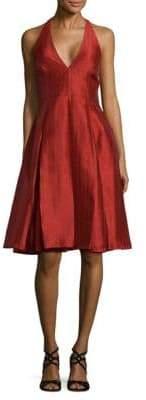 Halston Sienna Fit-&-Flare Dress