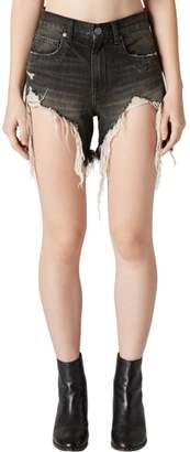 Blank NYC BLANKNYC Distressed Denim Mom Shorts