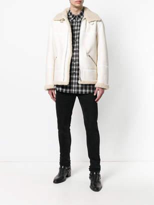 Givenchy Boxy shearling jacket
