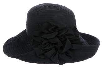 Eric Javits Floral Woven Hat