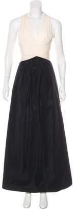 BCBGMAXAZRIA Sleeveless Evening Dress