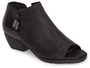 OTBT Truckage Open Toe Bootie