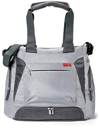 Skip Hop Baby Bento Meal-to-Go Diaper Bag, Platinum Grey (Discontinued by Manufacturer)