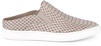 Vince Verrell Leather Backless Sneakers