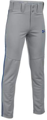 Under Armour Boys' UA Heater Piped Baseball Pants