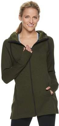Tek Gear Women's Thumb Hole Long Jacket