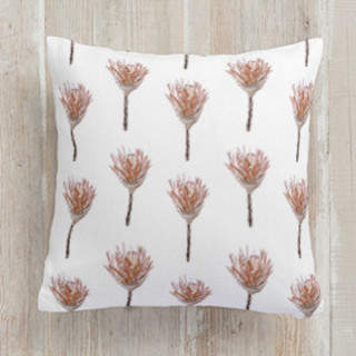 African Protea Square Pillow