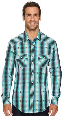 Rock and Roll Cowboy Long Sleeve Snap B2S3153 Men's Clothing