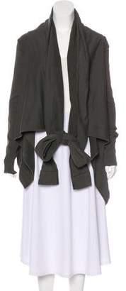 Rick Owens Draped Knit Jacket