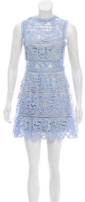 Self-Portrait Lace Mini Dress w/ Tags