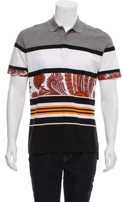 Givenchy Woven Polo Shirt