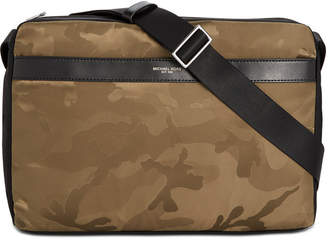 Michael Kors Men's Kent Camo-Print Messenger Bag