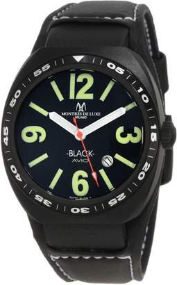 Montres de Luxe Men's AVI-40-QZ-N/G-C Avio Quartz Dial Watch
