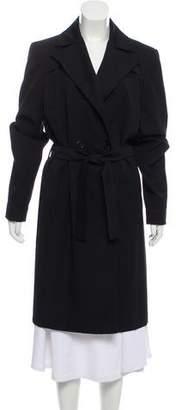 Bottega Veneta Double-Breasted Wool Coat
