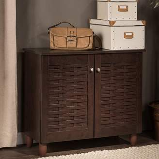 Rebrilliant 9-Pair Shoe Storage Cabinet
