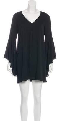 Amanda Uprichard V-Neck Long Sleeve Tunic