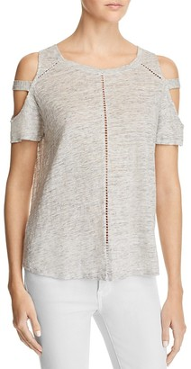 Generation Love Ladder Stitch Cold Shoulder Tee - 100% Exclusive $110 thestylecure.com