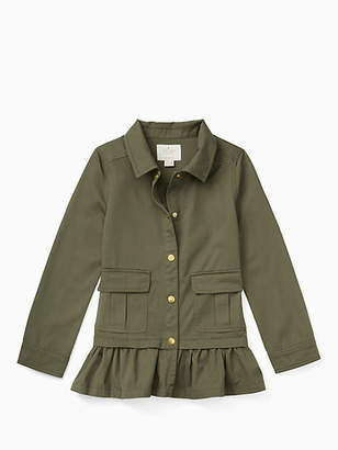 Kate Spade Girls field jacket