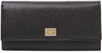 Dolce & Gabbana Dauphine Leather Continental Wallet