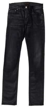 Nudie Jeans Coated Skinny Jeans