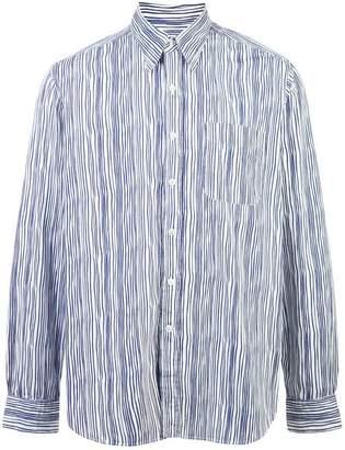 Holiday striped shirt
