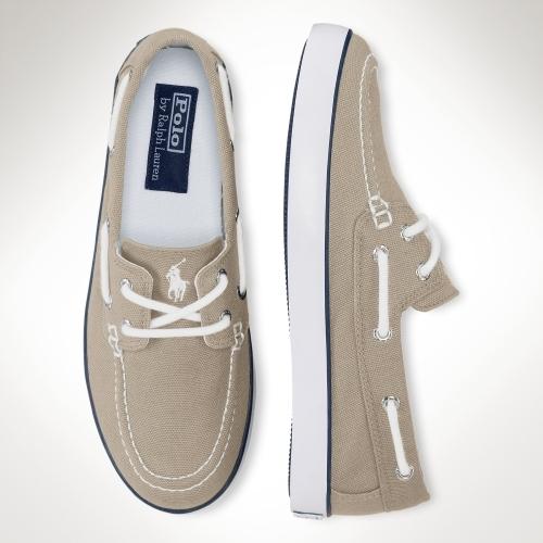 Sander Canvas Boat Shoe