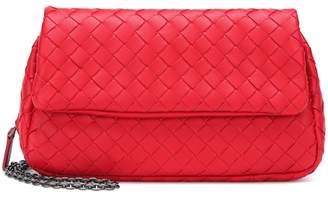 Bottega Veneta Mini Messenger leather shoulder bag