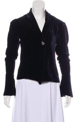 Co RRL & Velvet Shawl-Lapel Jacket
