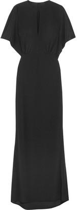 Norma Kamali - Obie Stretch-jersey Maxi Dress - Black $550 thestylecure.com