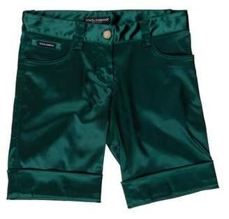 Dolce & Gabbana Knee-Length Satin Shorts