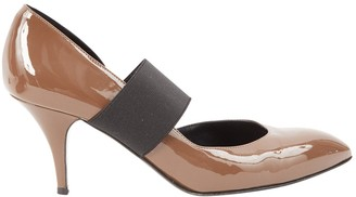 Sonia Rykiel Brown Patent leather Heels