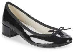 Repetto Bow Patent Leather Pumps