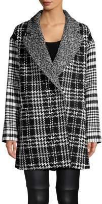 French Connection Belinda Check Coat