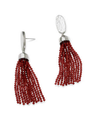 Kendra Scott Marin Statement Earrings in Silver