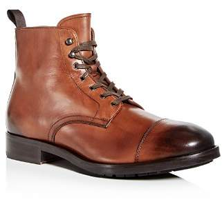To Boot Men's Concord Leather Cap Toe Boots
