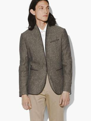 John Varvatos Hook & Bar Shawl Collar Jacket