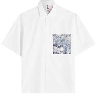 Oamc Voodoo Cotton Shirt with Silk Pocket