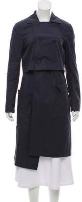 Tibi Knee-Length Trench Coat