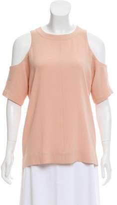 Tibi Cold-Shoulder Oversize Top