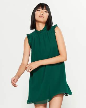 Ali & Jay Ruffle Shift Mini Dress