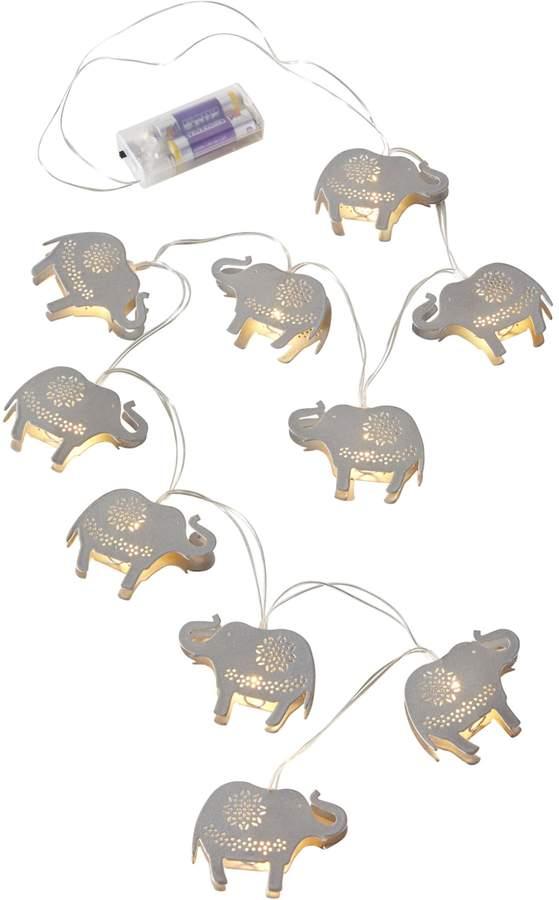 bpc living LED-Lichterkette Elefant