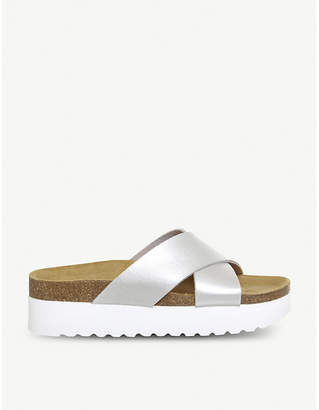Office Warner 2 cross-strap sandals