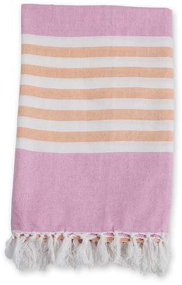 Mary Meyer LLJ Turkish Towel - Passion Pink & Apricot