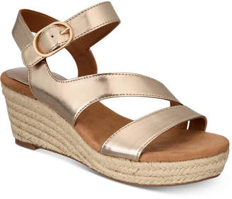 Style&Co. Style & Co Women's Xenaa Platform Espadrille Wedge Sandals, Created for Macy's