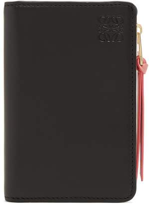 Loewe Bi-fold leather cardholder