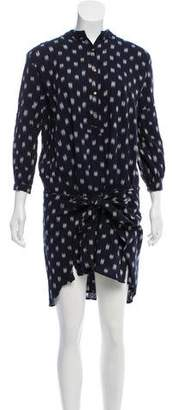 Ulla Johnson Long Sleeve Printed Dress